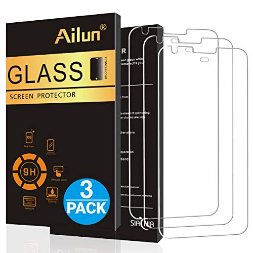Ailun Screen Protector Compatible Google Pixel 2016 Released 3 Pack 5Inch Tempered Glass 9H Hardness Ultra Clear Anti Scratch Case Friendly Not for Google Pixel XL or Pixel -
