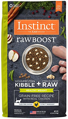 Instinct Raw Boost Healthy Weight Grain Free Recipe with Rea