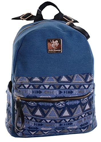 Markenlos - Bolso mochila  para mujer Motiv 3 Motiv 3