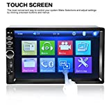 Bolayu Car FM Radio Stereo MP4 MP3 Player Touch Screen USB SD Bluetooth