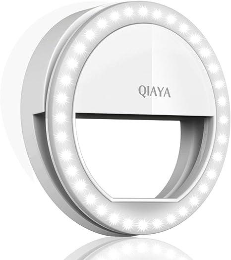 QIAYA Light21 - Anillo de luz para Smartphone, Color Blanco ...