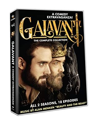 Galavant The Complete Collection All 2 Seasons 18 Episodes