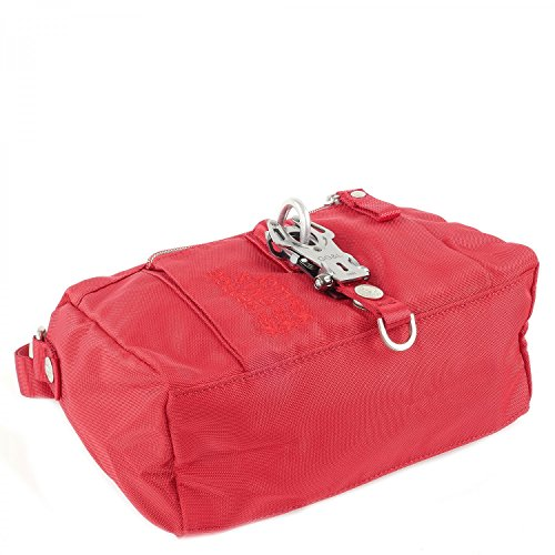 George Gina & Lucy Nylon The Drops Borsa a spalla rosso