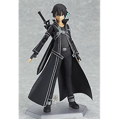 Max Factory Sword Art Online: Kirito Figma Action Figure: Toys & Games
