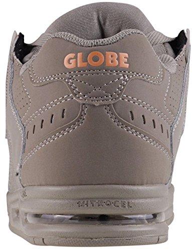 #globe Sabel London Grå Appelsin Nubuck Herre Skate Trænere HhGRT0Cg