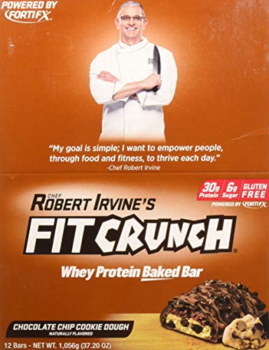 Fit Crunch Bars Cookie Dough 12 Count
