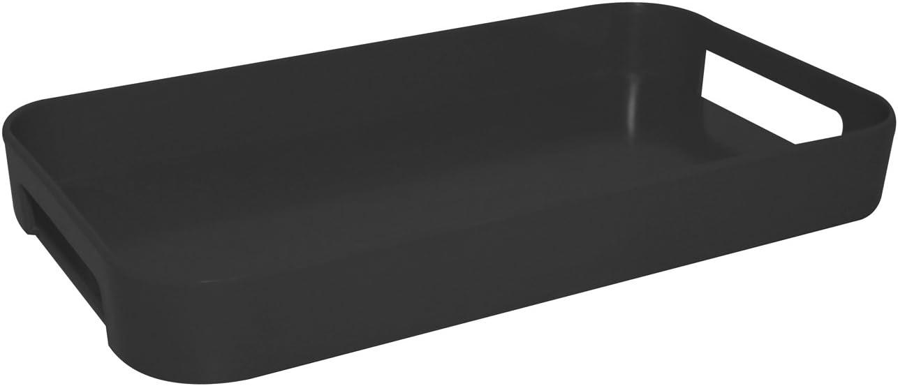 33 x 19 cm Zak Designs Gallery Tray Black