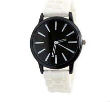 Hoverwings Reloj Digital de Silicona para Mujer, Reloj Deportivo, Relojes de Cuarzo. (Blanco): Amazon.es: Hogar