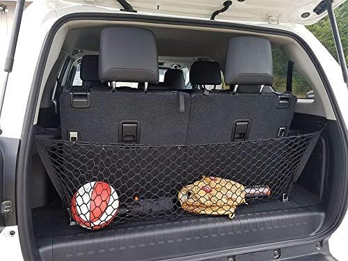 Envelope Style Trunk Cargo Net for Toyota 4Runner 2010-2019 3 Row Model Only