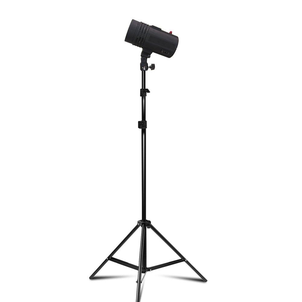 200 Watt Studio Flash/Strobe Light, Fuse, Test Button, Wireless Triggering Available, Umbrella Input, Mount on Light Stand, Professional Photography Use, Photo Studio, AGG2044 by LimoStudio (Image #6)