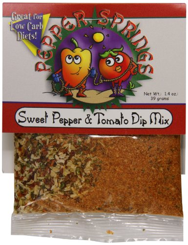 (Pepper Springs Sweet Pepper And Tomato Dip Mix, 1.4 Ounce)