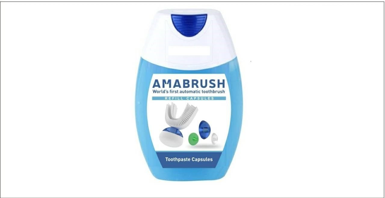Amabrush Toothpaste For Charging Toothpaste ReFill Capsules Germay