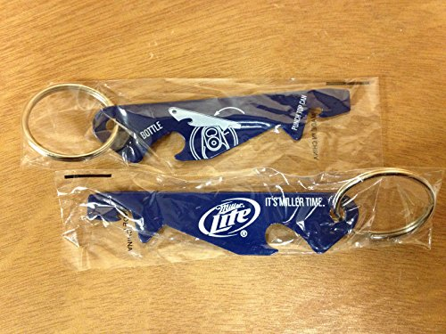 Miller Lite Beer Punch Top Can & Bottle Opener Set of 2 - New (Miller Lite Can Opener compare prices)