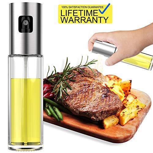 Updated 2019 Version Olive Oil Sprayer Dispenser Mister Bottle For