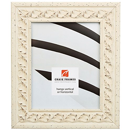 Craig Frames Swedish Country, Off-White Scandanavian Style Picture Frame, 11 by 17-Inch (Discount Canvas Art)