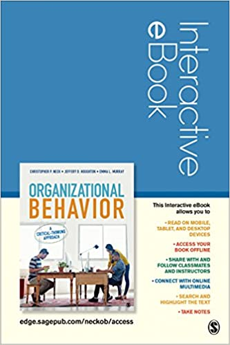 Organizational behavior interactive ebook student version a organizational behavior interactive ebook student version a critical thinking approach 1st edition fandeluxe Gallery