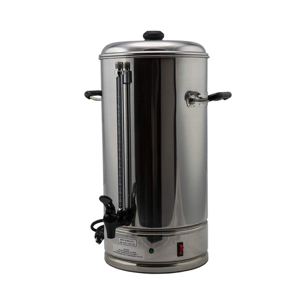 SYBO CP15-V2 Commercial coffee urn, 15 Liter, Metallic