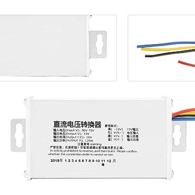 Convertisseur 10 A réglable 200 W pour Batterie//DEL//Voiture Module d/'Alimentation Courant Direct-courant continu 7-32 V