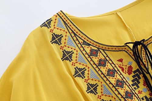 D-Pink - Camisas - Túnica - para mujer amarillo