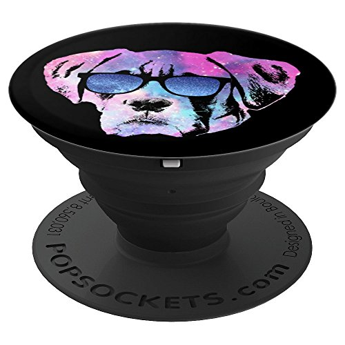 Puppies Boxers (Cute Dog Boxer Puppy Wearing Sunglasses Space Pet Dog Lover - PopSockets Grip and Stand for Phones and Tablets)