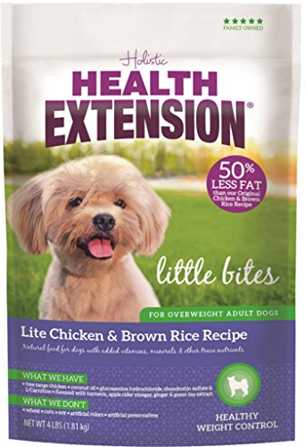 Cheap Health Extension Little Bites Lite Chicken & Brown Rice Recipe, 15-pounds