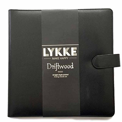 Lykke Driftwood 14'' Straight Gift Set in Black Faux Leather Pouch by Lykke (Image #3)