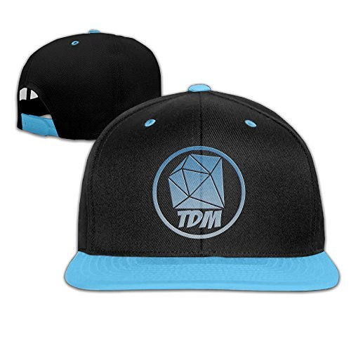 senben-the-diamond-minecart-dan-tdm-logo-kids-boys-girls-hats-caps
