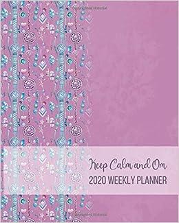 2020 Weekly Planner: Yoga Journal Notebook | Calendar | Self ...