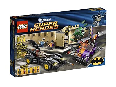 Lego Super Heroes Batmobile And The Two-face Chase 6864 from LEGO