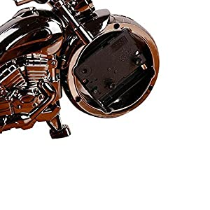 KINGZHUO Luxury Retro Style Motorcycle Alarm Clock Unique Gift for Motor Lovers Kids Boys Exquisite Motorbike Sporting Alarm Clock