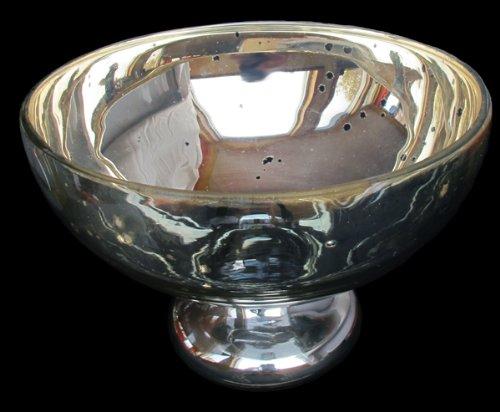 mercury glass pedestal - 7