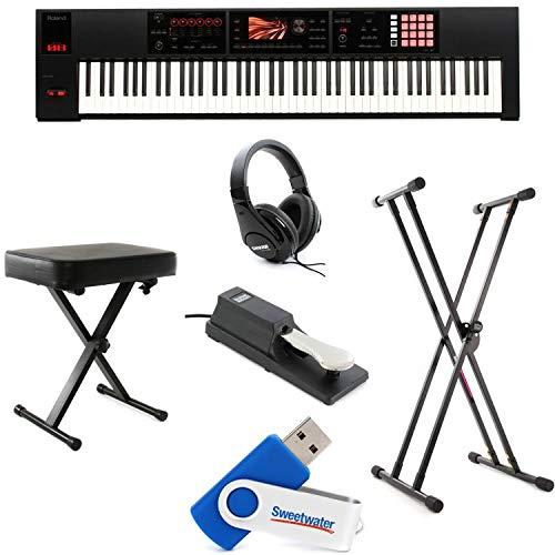 Roland FA-08 88-Key Essential Keyboard Bundle by Generic