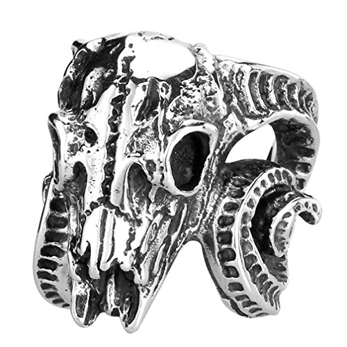 goat head ring - 9