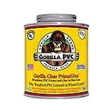 Raven R1584C Gorilla Pvc Cement Medium Body Primaglue, 8 oz, Yellow