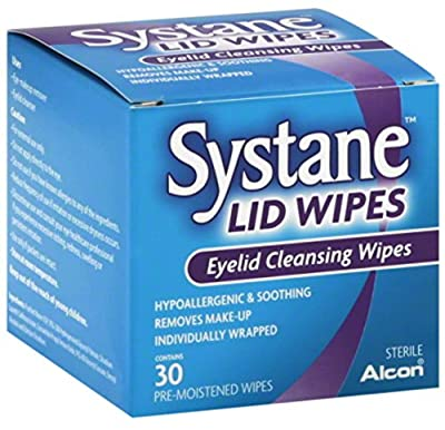 Systane Lid Wipes Eyelid Cleansing Wipes 30 Each
