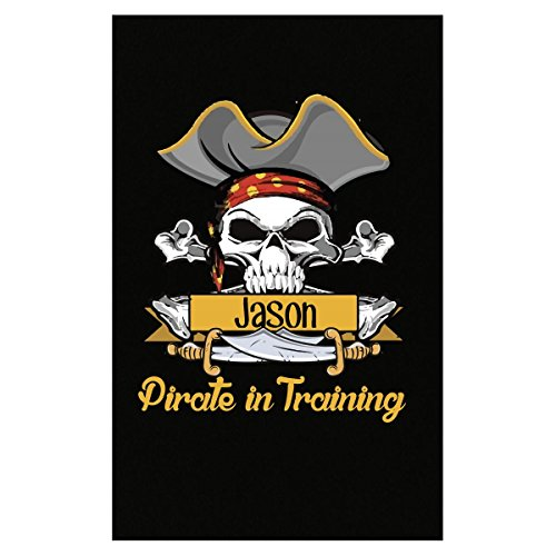 Halloween Costume Jason Pirate In Training Kids Boy Girl Gift - Poster (Custom Jason Costumes)