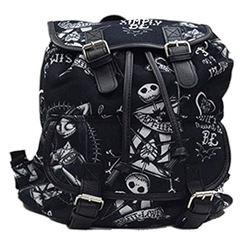Jack and Sally Knapsack Backpack