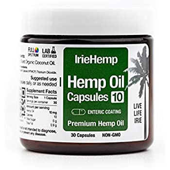 Amazon.com: Irie Hemp Daily Wellness Blend Tincture - Hemp ...