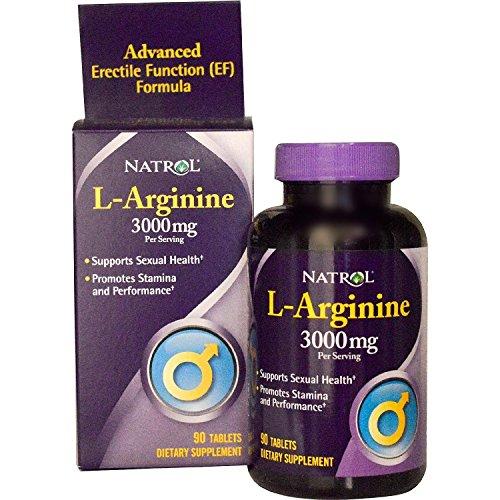 L Arginine 3000Mg Natrol Tab Pack
