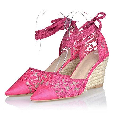 Adee - Sandalias de vestir para mujer Rosado