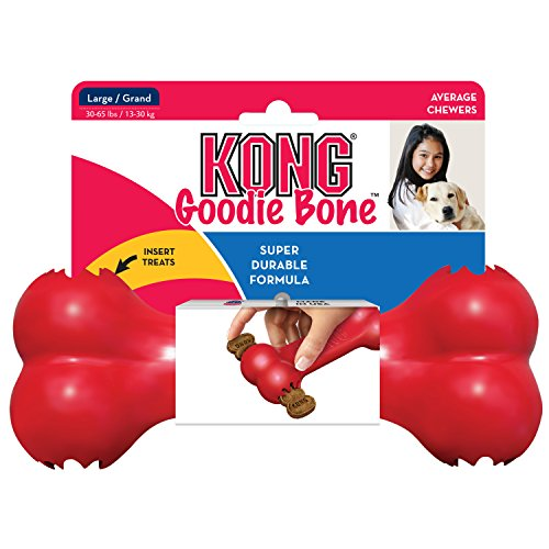 KONG Goodie Bone Dog Toy, Large, Red