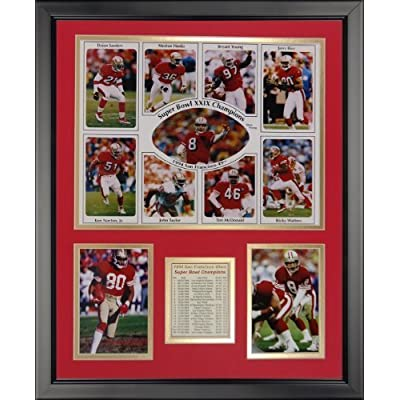 """Legends Never Die San Francisco 49ers - 1994 Champs Framed Photo Collage, 16"""" x 20"""" by Legends Never Die"""