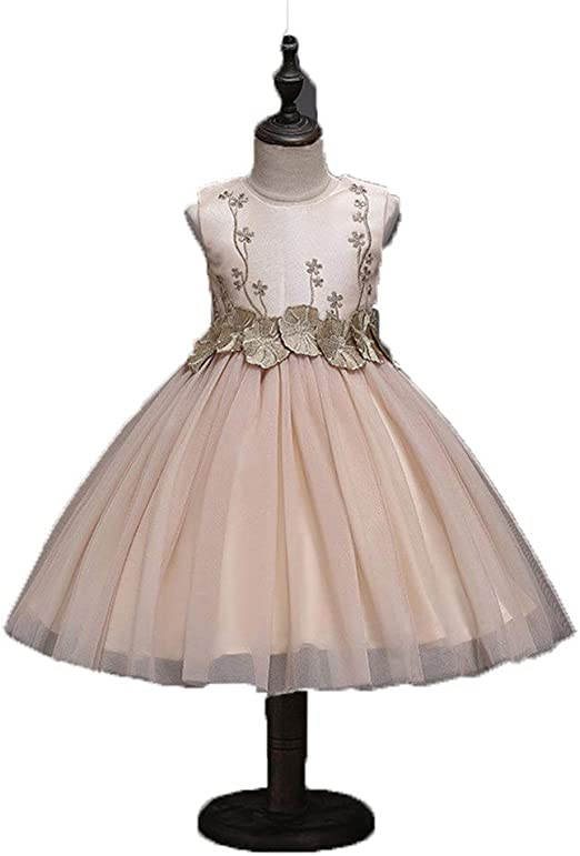 Vestidos de novia de las niñas Niñas vestido de flores princesa ...