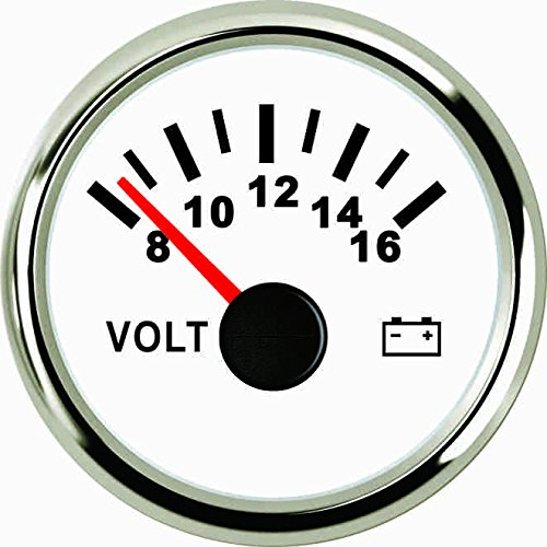 Voltmeter Volt Meter 12V/8-16V With Backlight 52mm(2