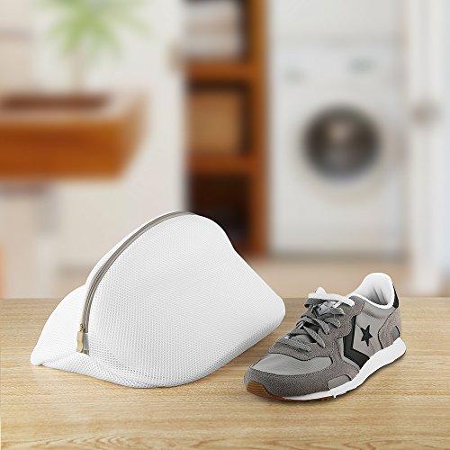 Ecooe 2 Stück Premium Wäschenetz für Schuhe / Sneaker, Multi Schutz Wäschenetz Wäschebeutel für die Reise