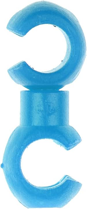 MagiDeal 10pcs//Lot Gaine /à C/âble V/élo Type-S en Plastique Rangement Attache Boucle de Fil