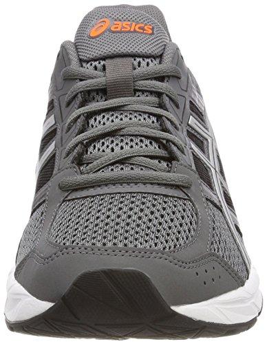 Gel Hommes Asics Soutiennent 4 Chaussures De Course Gris