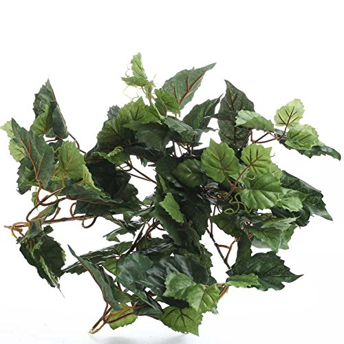 Factory Direct Craft Set of 2 Small Artificial Ivy Bushes for Home Decor, and Displaying by Factory Direct Craft