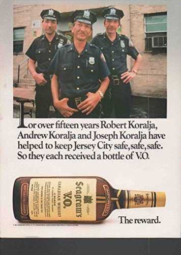 Paper History Co Original 1984 Vintage Whisky Seagrams Magazine Advertising Authentic
