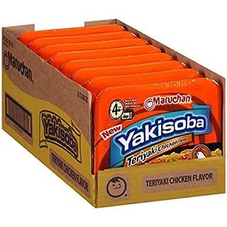 Maruchan Yakisoba Teriyaki Chicken, 3.98 Oz, Pack of 8